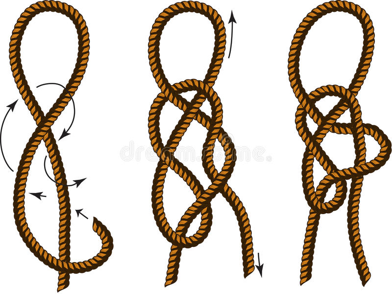 Brown rope borders with different knots stock vector illustration download brown rope borders with different knots stock vector illustration of element clip ccuart Image collections