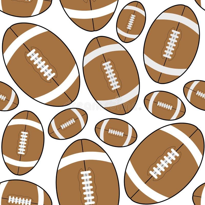 Brown rugby futbol amerykański Bezszwowy ilustracji
