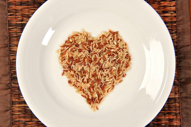 Brown ryż adra obraz royalty free