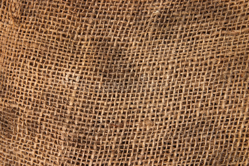 Download Brown sack cloth material. stock image. Image of pattern - 2316223