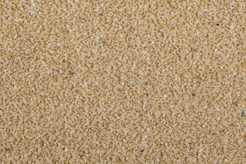 Macro of brown sandpaper royalty free stock images