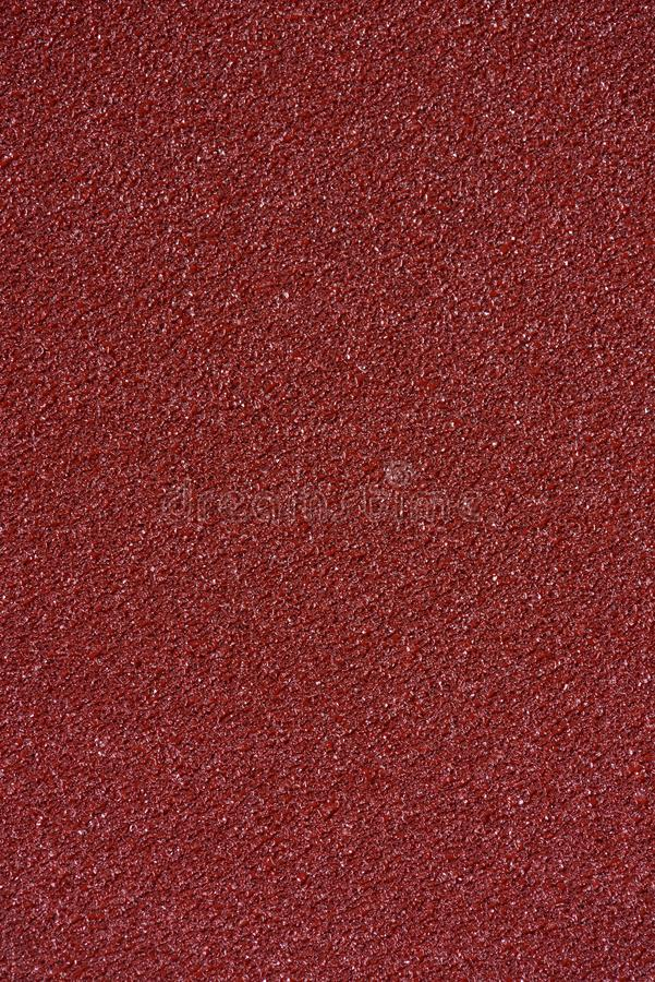 Brown sandpaper texture stock image