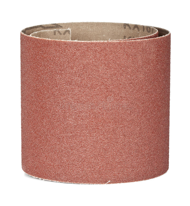 Brown sandpaper royalty free stock photography