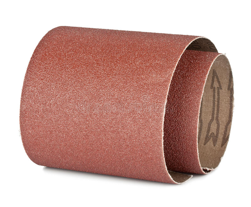 Brown sandpaper stock photography