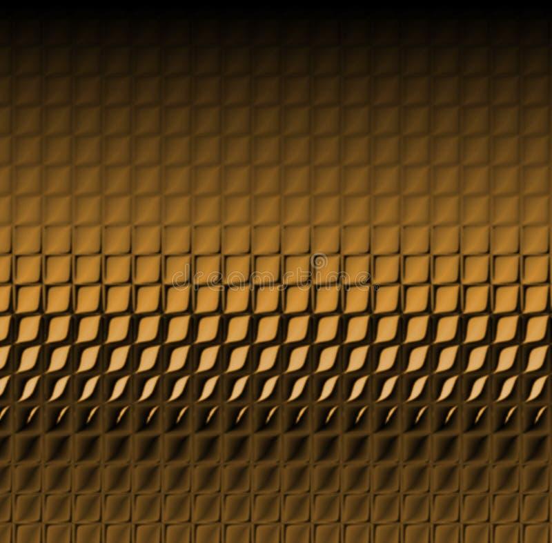 Brown-Schlange-Haut stock abbildung