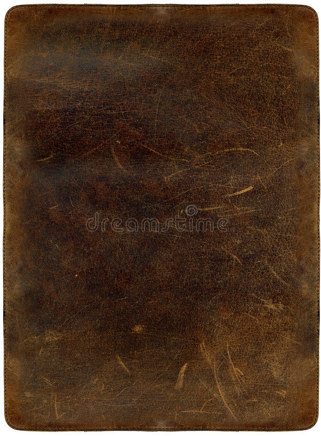 Download Brown scratched leather stock image. Image of stitch, rinkle - 3439577