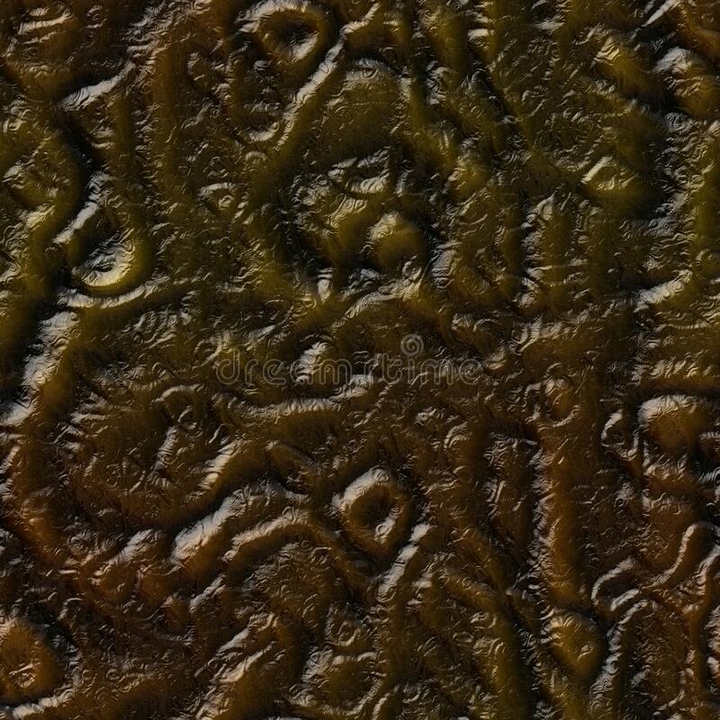 Free Brown Seamless Alien Skin Texture Royalty Free Stock Image - 184837146