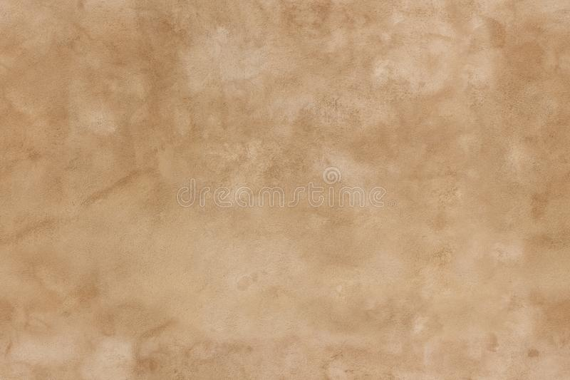 Brown seamless stucco texture royalty free stock images