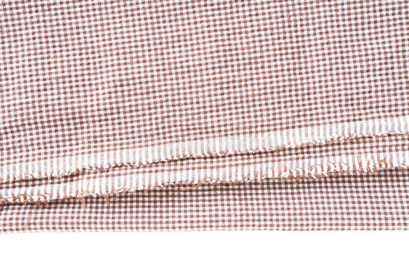 Brown-Segeltuchtischdeckenbeschaffenheit lizenzfreies stockfoto