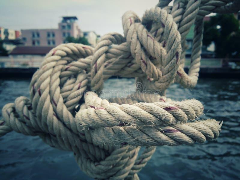 Brown-Seile und -hintergründe stockfoto