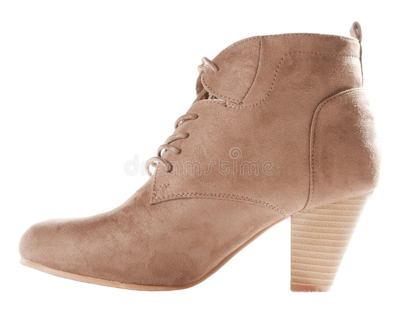 Brown Shoe Boot Stock Photo