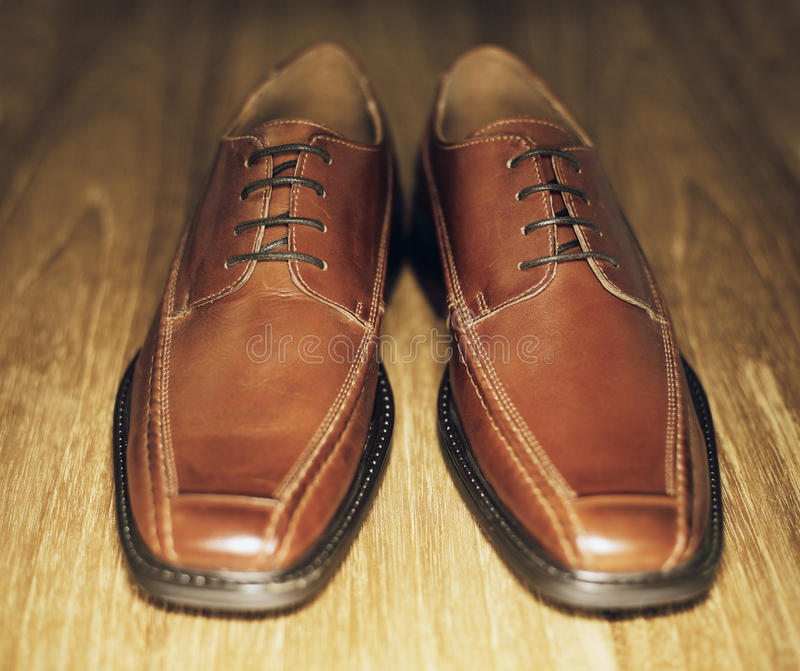 Download Brown Shoes stock image. Image of mens, footwear, objects - 23138285
