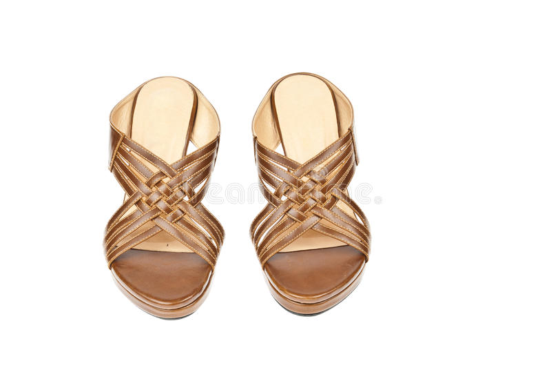 Brown shoes, Weave High-heel