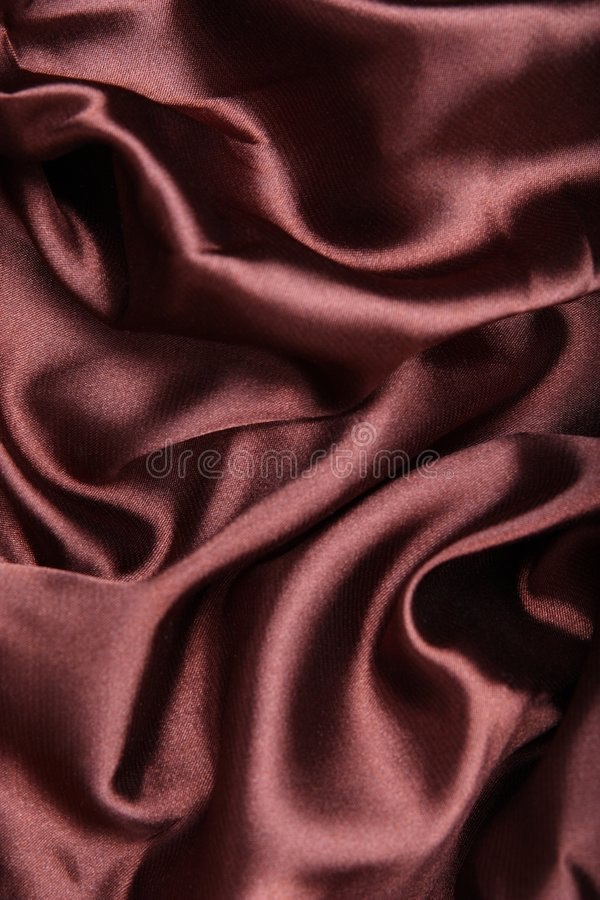 Download Brown silk textile stock image. Image of drapery, clothing - 7663133