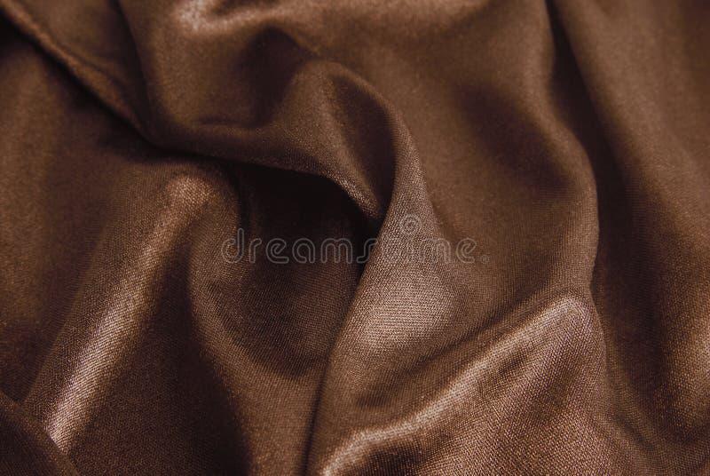 Brown silk texture