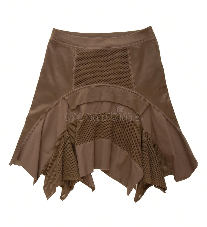 Download Brown skirt stock photo. Image of casual, attractive - 28667482