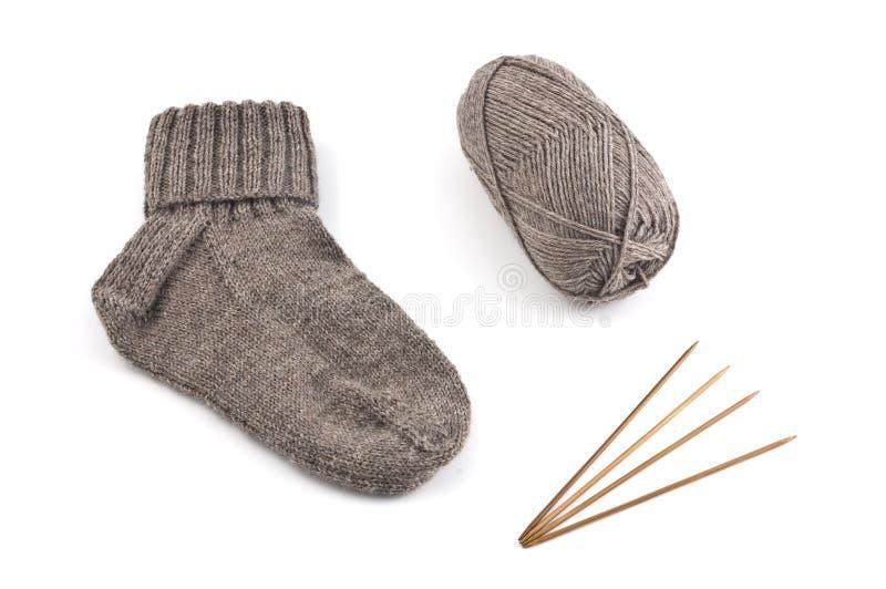 Brown-Socke lizenzfreie stockfotos
