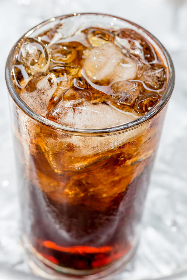 Brown soda zdjęcie royalty free