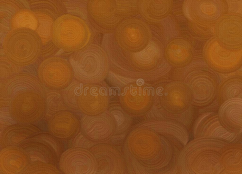 Brown  Spirals Background Stock Photos