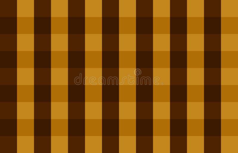 Brown Square Seamless Pattern