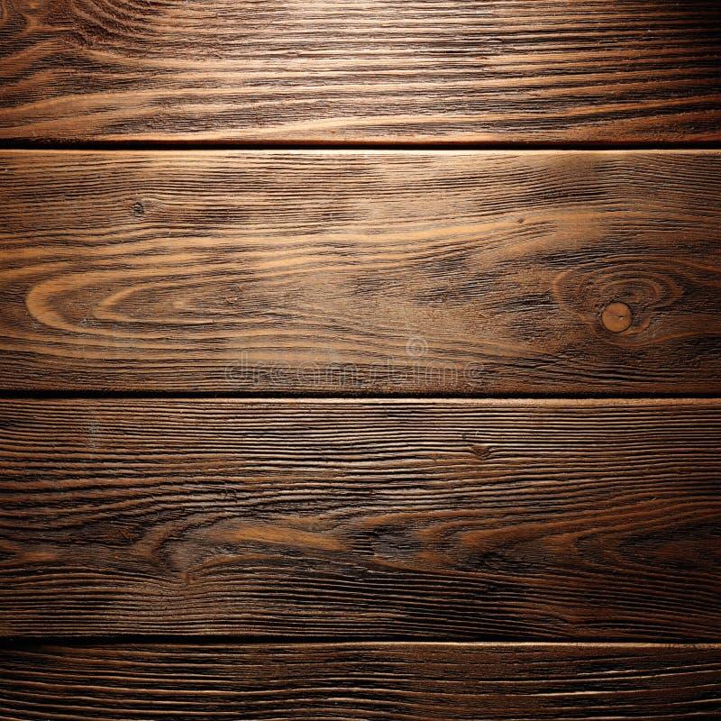 Brown stara drewniana tekstura z kępką obrazy royalty free