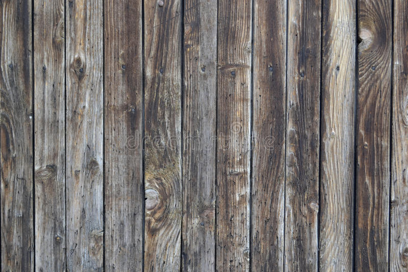Brown Stary drewniany textured tło zdjęcia royalty free