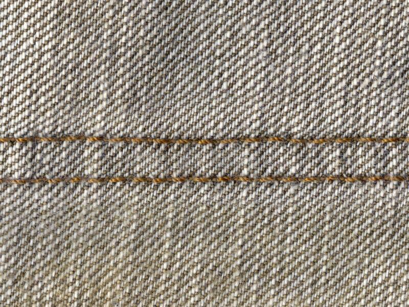 Brown Stitch Stock Image