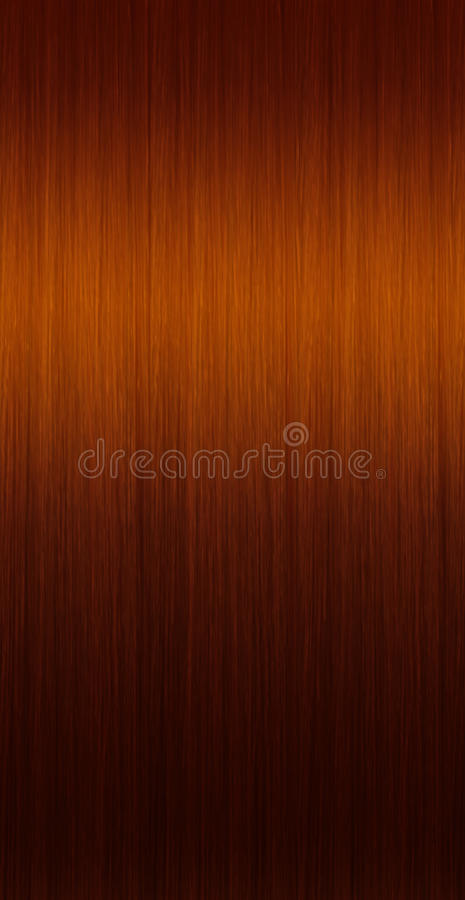 Brown straight hair. Pattern for create a brown straight hair. Textures vector illustration