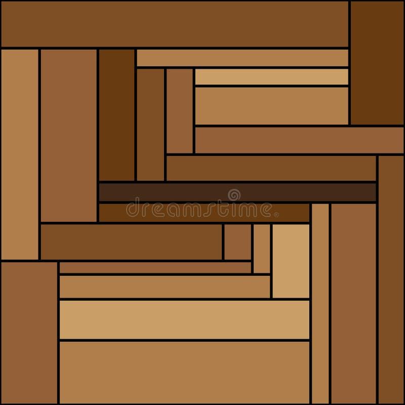 Brown-Streifen von verschiedenen Farben lizenzfreie stockfotografie