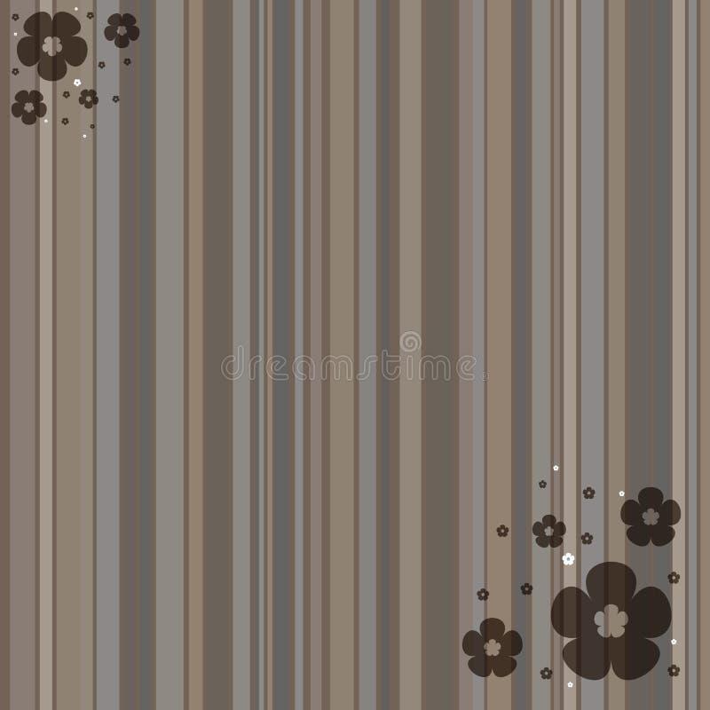 Brown streifte Hintergrund stockbild