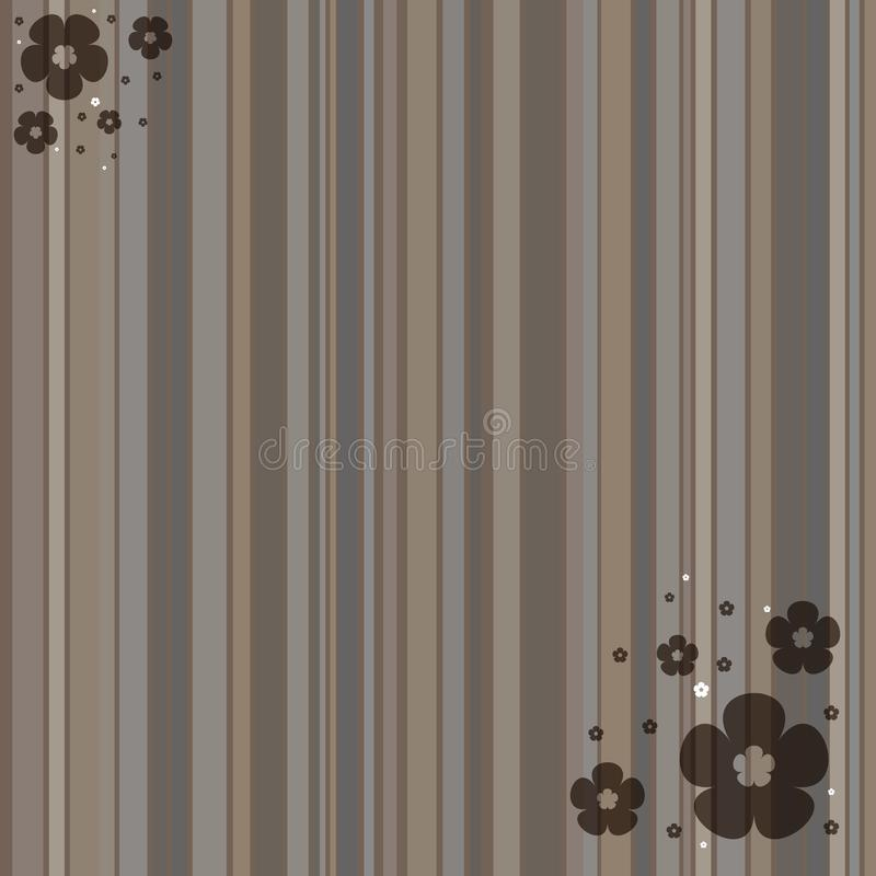 Brown striped background stock image