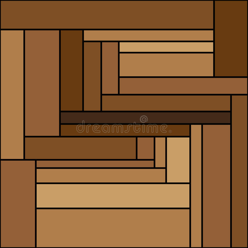 Brown stripes of different colors royalty free stock photography
