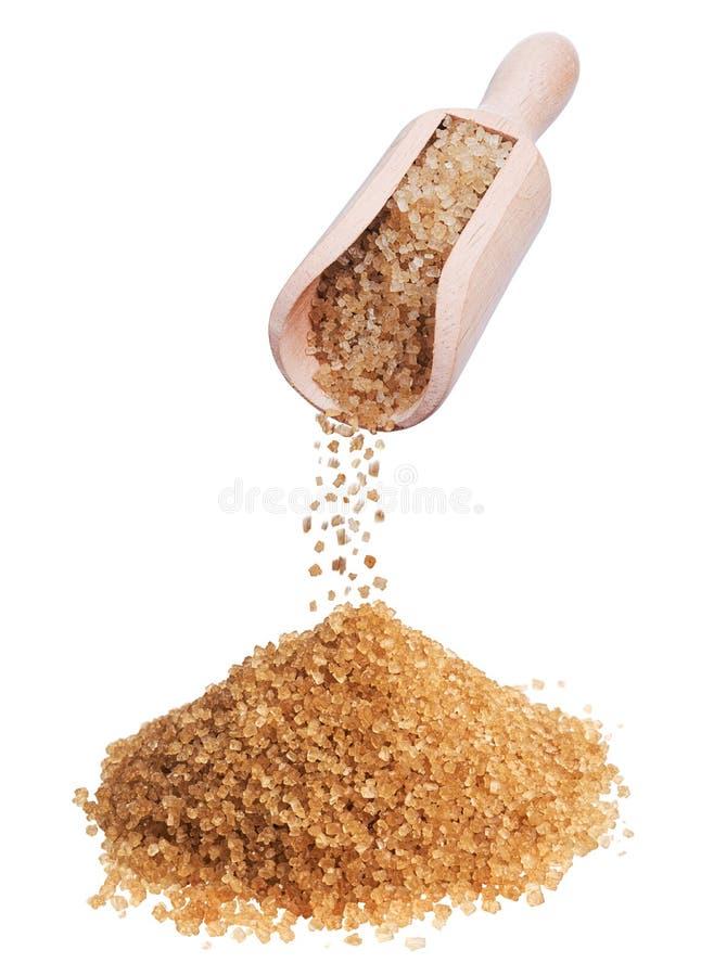 Brown sugar royalty free stock image