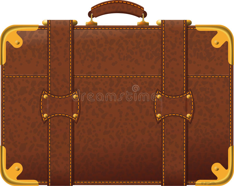 Download Brown Suitcase Royalty Free Stock Photo - Image: 29571305