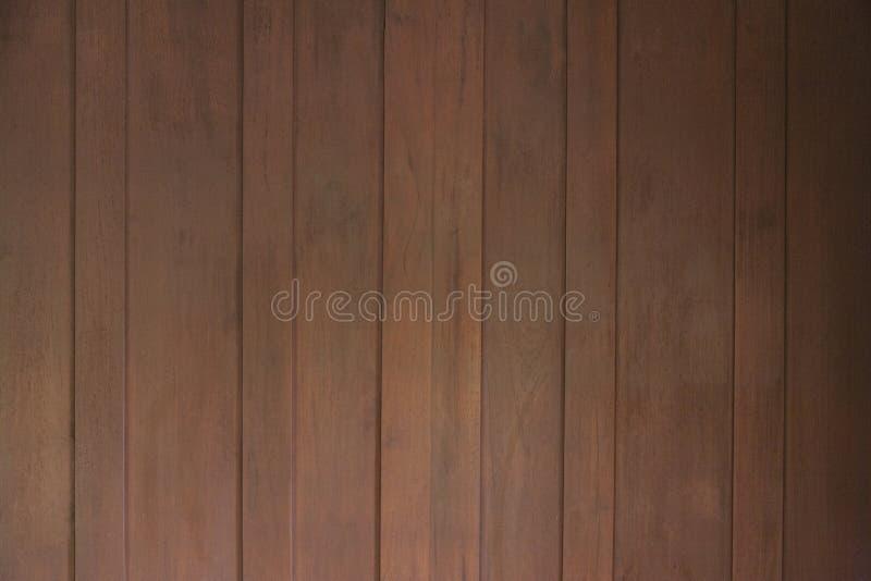 Brown-Täfelungswandbeschaffenheit lizenzfreie stockbilder