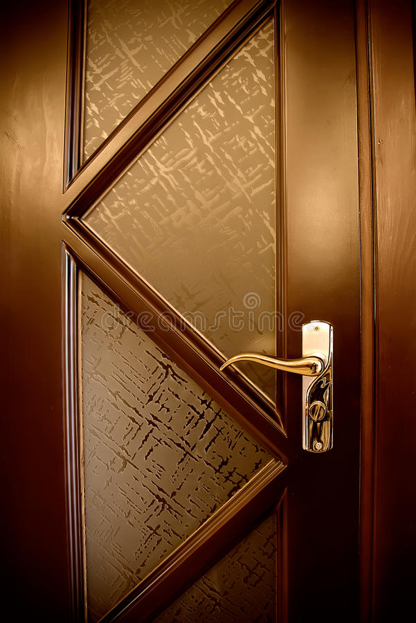 Brown-Tür stockbilder