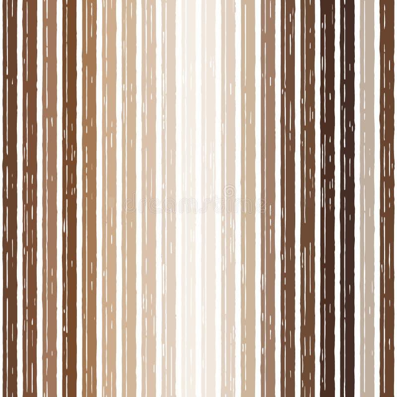 Brown t?a br?zu groszaka lampasy linii linia ilustracja wektor