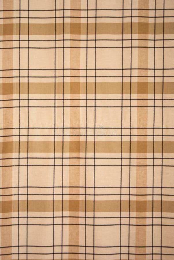 Free Brown Tablecloth Tartan Pattern Royalty Free Stock Image - 32464706