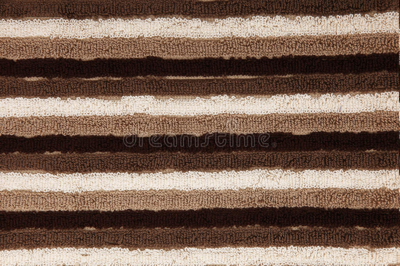 Download Brown, Tan, White Striped Towel Texture Closeup Stock Photo - Image: 19300094