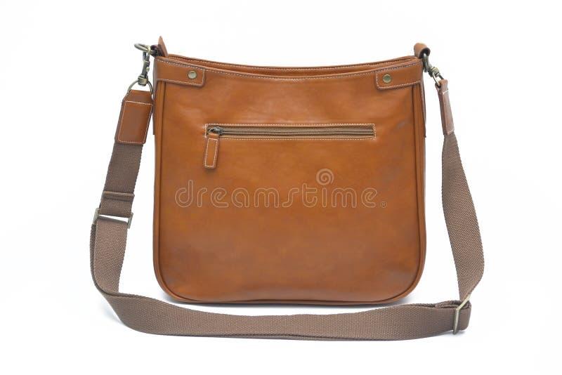 Brown-Tasche stockfotografie