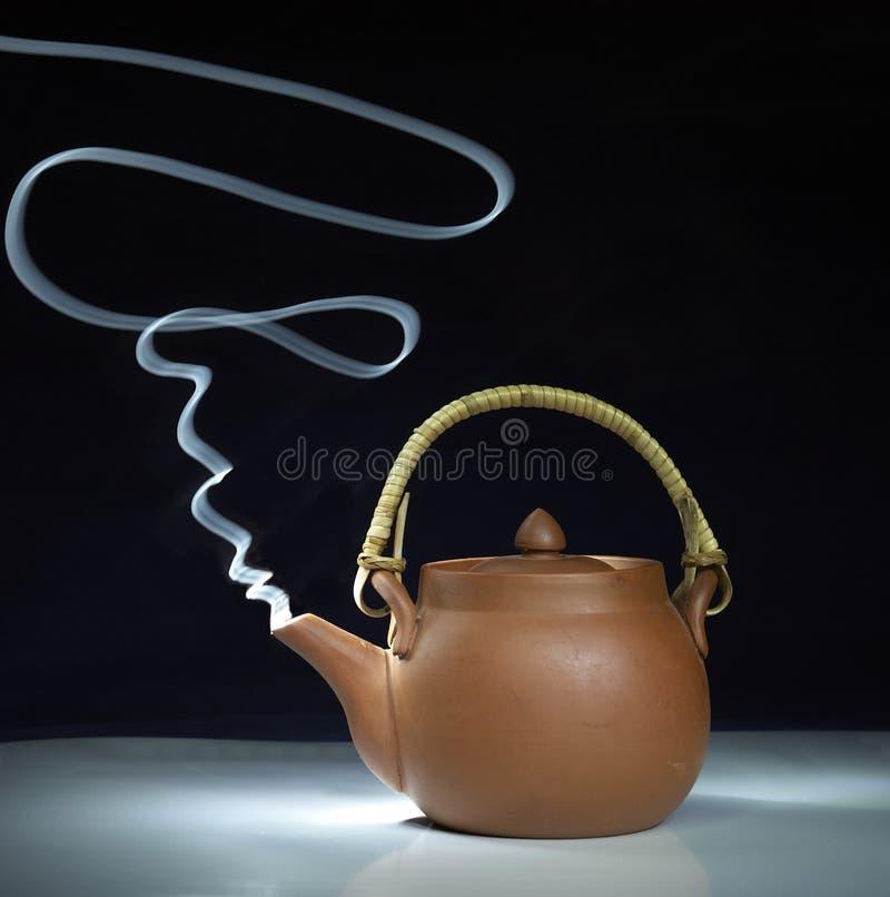Brown Teapot Smoking Free Public Domain Cc0 Image
