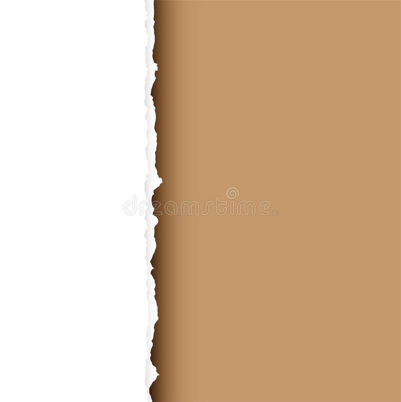 Download Brown tear divide stock vector. Illustration of page, background - 9731426