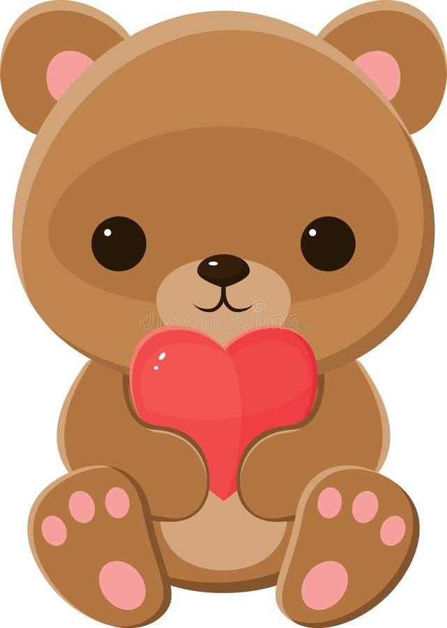 Brown Teddy Bear libre illustration