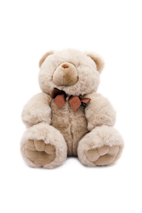 Brown-Teddybär. lizenzfreies stockbild