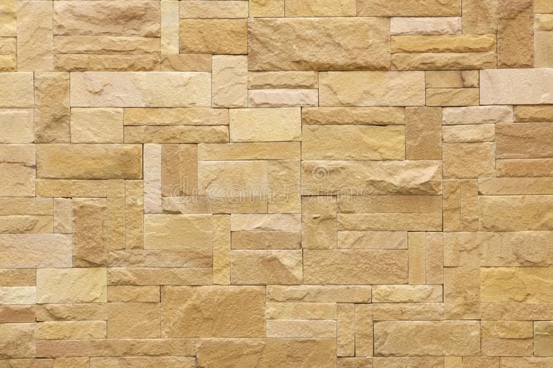 Brown tiled stone wall stock photo. Image of protect - 17051462