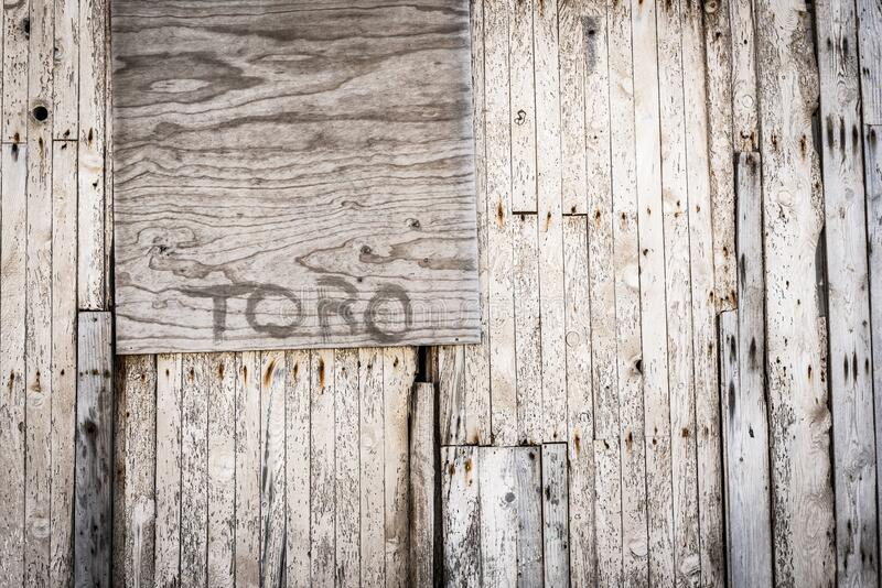 Brown Toro Painted Wooden Wall Free Public Domain Cc0 Image
