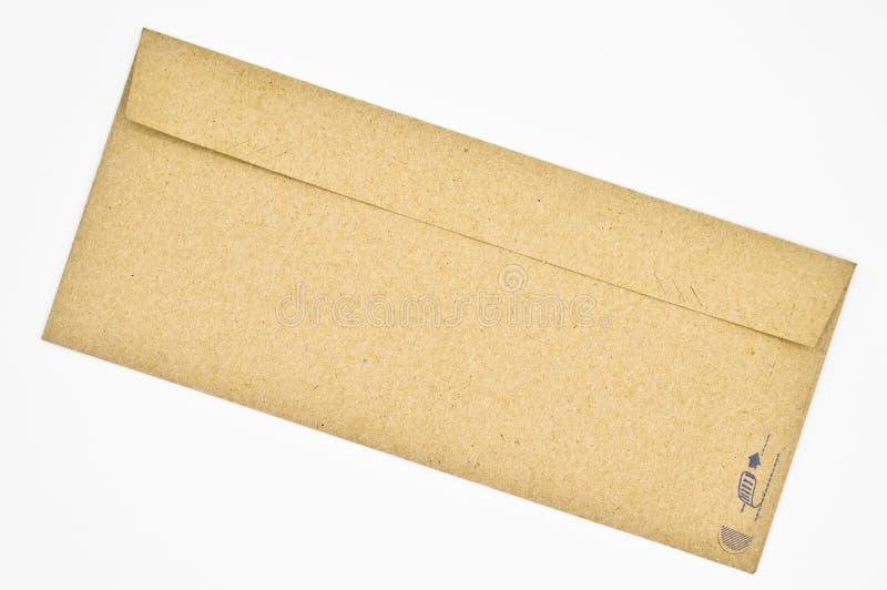 Brown und beige Umschl?ge benutzt f?r Handelskorrespondenz lizenzfreies stockbild