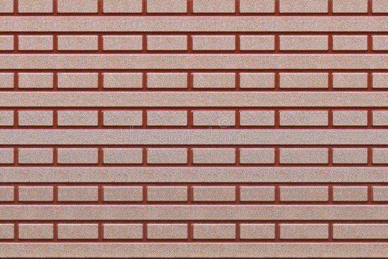 Brown Und Rote Fliesen Mit Symmetrischen Formen Stockfoto