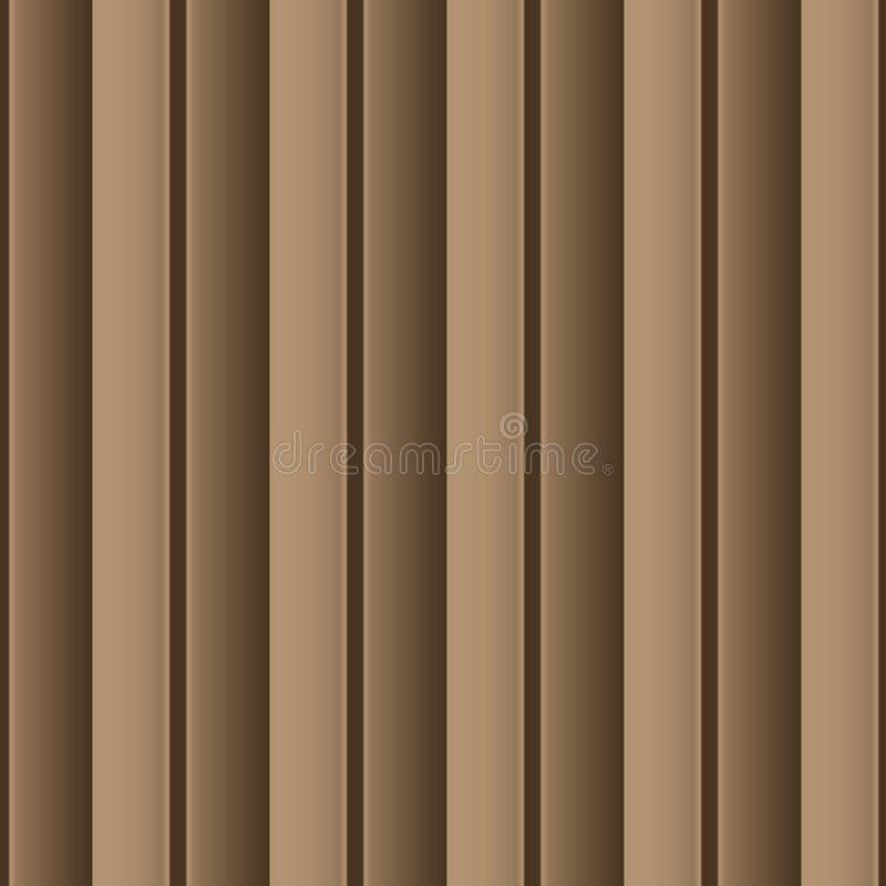Brown universal vector seamless patterns, tiling. Geometric ornaments. stock image