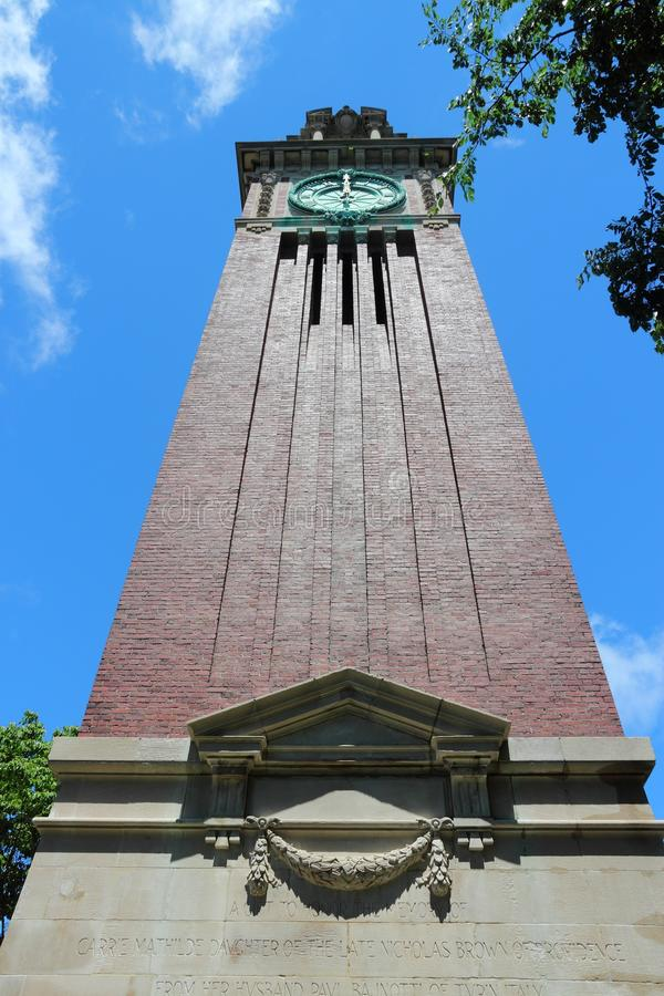 Brown University royaltyfri bild